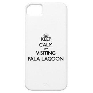 Keep calm by visiting Pala Lagoon Samoa iPhone 5 Cover