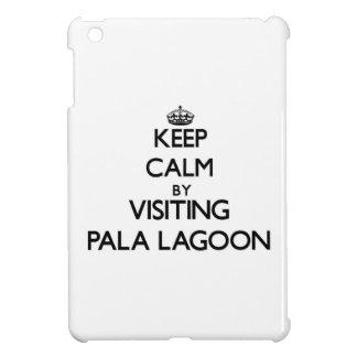 Keep calm by visiting Pala Lagoon Samoa iPad Mini Covers