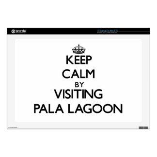 "Keep calm by visiting Pala Lagoon Samoa Skin For 17"" Laptop"