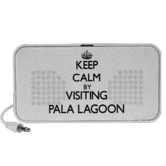 Keep calm by visiting Pala Lagoon Samoa Mini Speakers