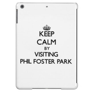 Keep calm by visiting Phil Foster Park Florida iPad Air Covers
