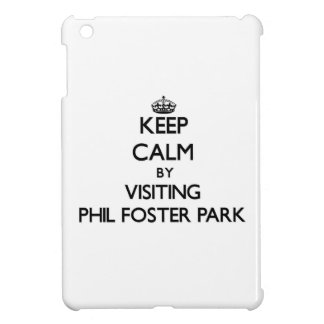 Keep calm by visiting Phil Foster Park Florida iPad Mini Covers