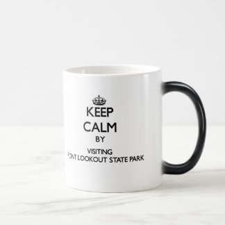 Keep calm by visiting Point Lookout State Park Mar Mug
