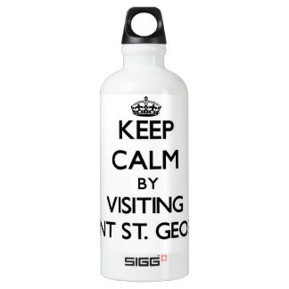 Keep calm by visiting Point St. George California SIGG Traveler 0.6L Water Bottle
