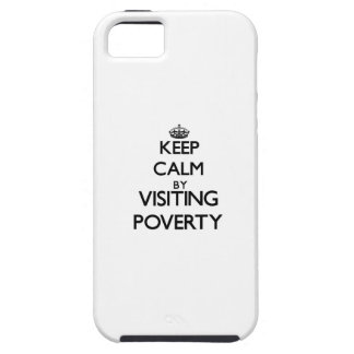 Keep calm by visiting Poverty New Jersey iPhone 5 Covers