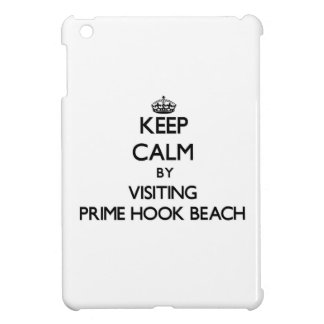 Keep calm by visiting Prime Hook Beach Delaware iPad Mini Cover