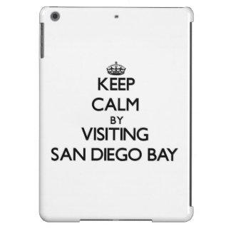 Keep calm by visiting San Diego Bay California iPad Air Covers