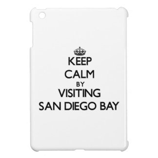 Keep calm by visiting San Diego Bay California Cover For The iPad Mini