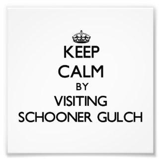 Keep calm by visiting Schooner Gulch California Photograph