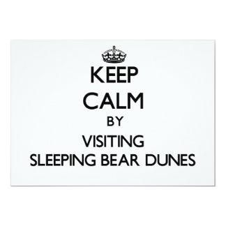 Keep calm by visiting Sleeping Bear Dunes Michigan Cards