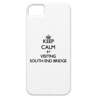 Keep calm by visiting South End Bridge Florida iPhone 5 Cover