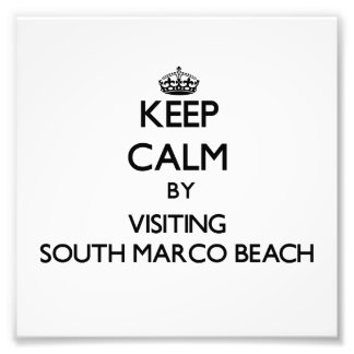 Keep calm by visiting South Marco Beach Florida Photo