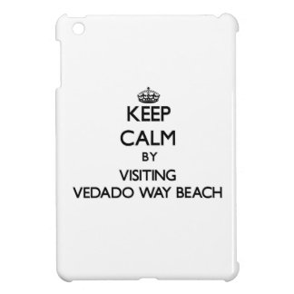 Keep calm by visiting Vedado Way Beach Florida iPad Mini Case