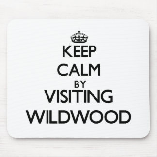 Keep calm by visiting Wildwood New Jersey Mouse Pads
