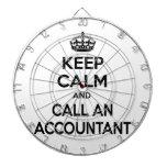 Keep Calm ... Call an Accountant Dartboards