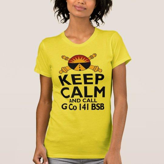 Keep Calm Call G Company T-Shirt