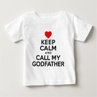 Keep Calm Call Godfather Infant T-shirt