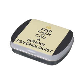 Keep Calm & Call the School Psychologist Candy Tin