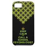 Keep Calm Call the School Psychologist Case iPhone 5 Covers