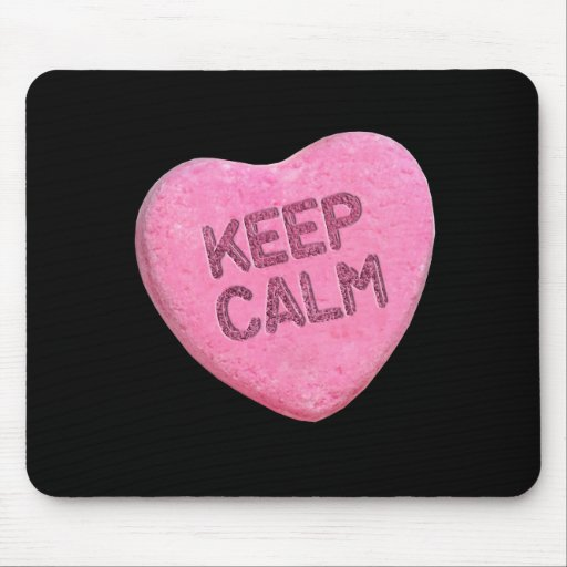 KEEP CALM CANDY -.png Mouse Pad