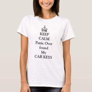 Keep Calm /Car Keys T-Shirt