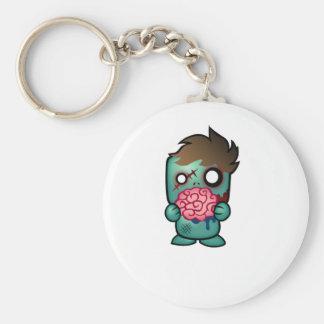 Keep Calm, Carry On, Aim for the Head Keychain