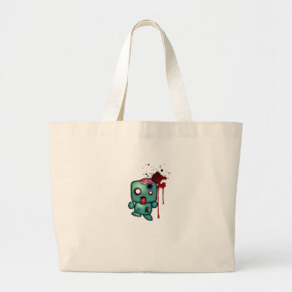 Keep Calm, Carry On, Aim for the Head Large Tote Bag