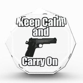 Keep Calm Carry On Award