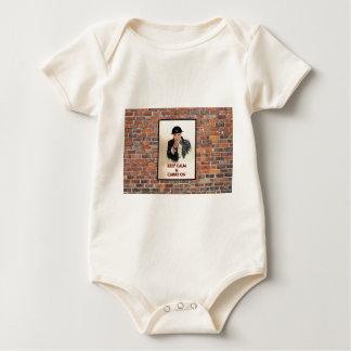 Keep Calm & Carry On Baby Bodysuit