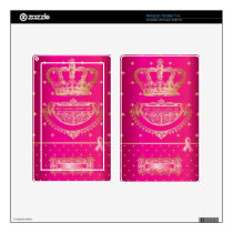 Keep Calm & Carry On Breast Cancer Products. Kindle Fire Skin