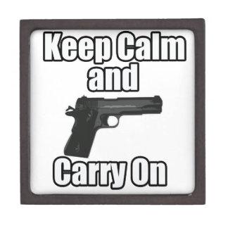 Keep Calm Carry On Gift Box