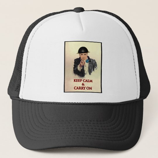 Keep Calm & Carry On Trucker Hat