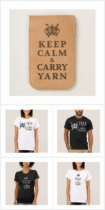 ♥ Keep Calm Carry Yarn
