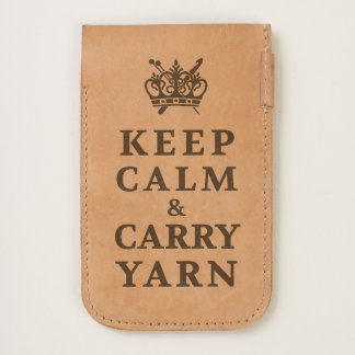Keep Calm Carry Yarn • Crafts iPhone 6/6S Case