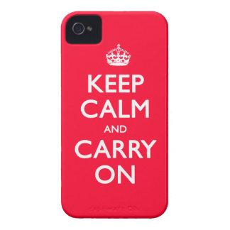 Keep Calm iPhone 4 Covers