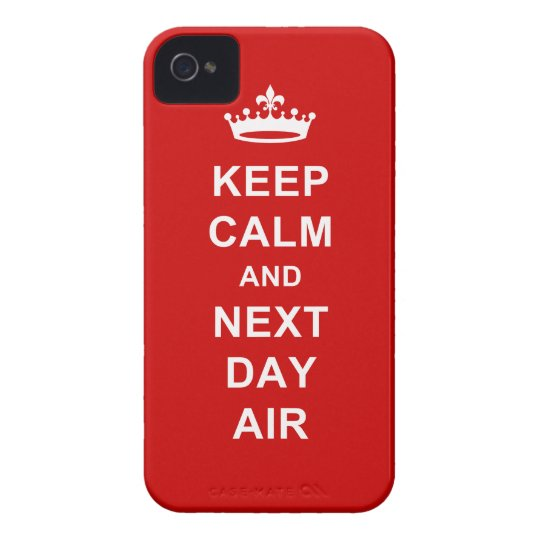 Keep Calm Case-Mate iPhone 4 Case