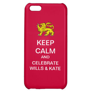 KEEP CALM Celebrate Wills and Kate iPhone Case