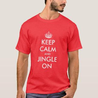 Keep Calm Christmas t shirt | Customizable gift