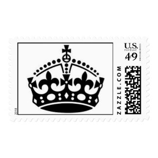 keep calm collection stamp