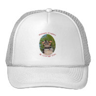 Keep Calm & Corgi On Mesh Hats