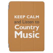 Keep Calm Country iPad Air Cover