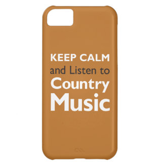 Keep Calm Country iPhone 5C Cover