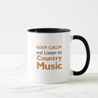 Keep Calm Country Mug