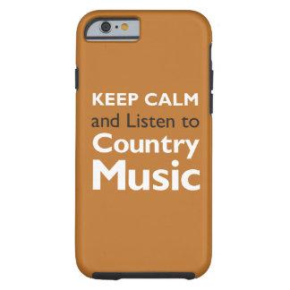 Keep Calm Country Tough iPhone 6 Case