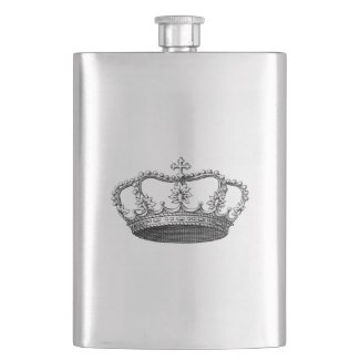 Keep Calm Crown Flasks