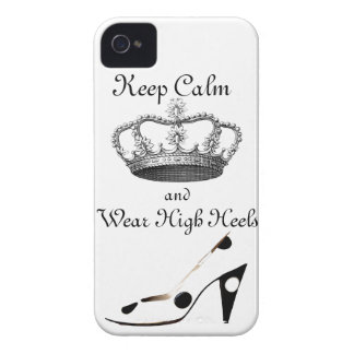 Keep Calm Crown iPhone 4 Cases