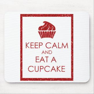 Keep Calm Cupcakes Mouse Pad