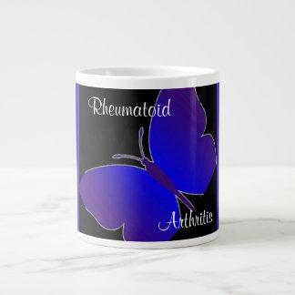 Keep Calm & Cure RA Butterfly Mug 20 Oz Large Ceramic Coffee Mug