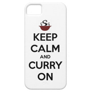 keep calm curry on iPhone SE/5/5s case