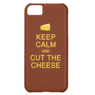 Keep Calm & Cut The Cheese custom cases